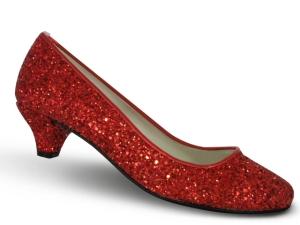 rojo glitter