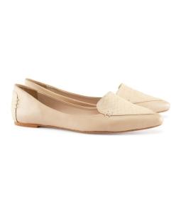 zapato blanco mocasin h&m