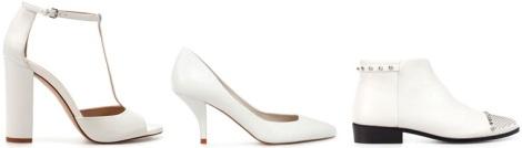 zara zapato blanco