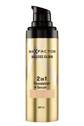 max factor serum y maquillaje