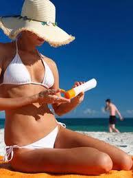 aplicacion crema solar