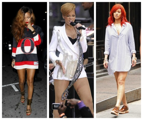 PANTLESS RIHANNA