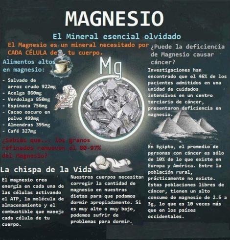 magnesio proteccion del corazon