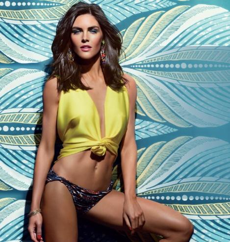 Estee-Lauder-Summer-2013-Bronze-Goddess-Collection-Model