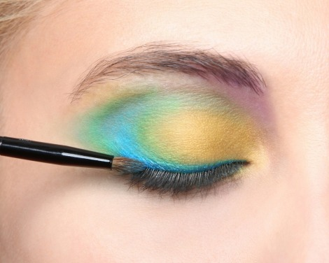 make up forever ojos fluor