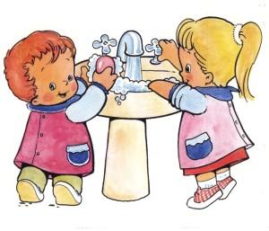 niños higiene 2