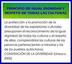 igualdad de las culturas