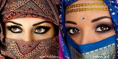 Maquillaje arabe