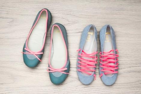 zapatos camper y pretty ballerinas