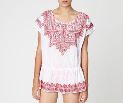 oysho blusa india