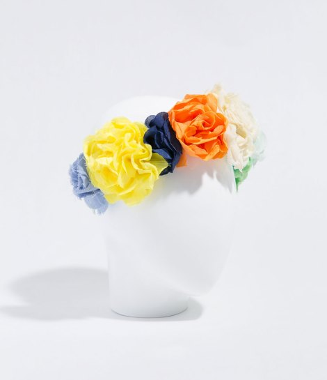 zara diademas flores