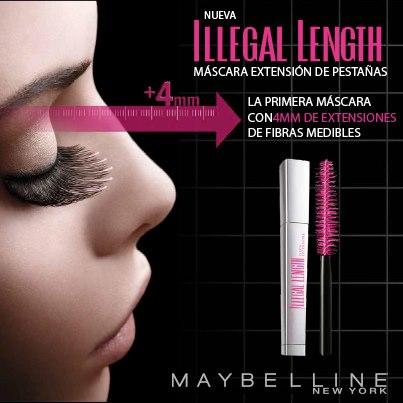 Maybelline-Illegal Length-mascara