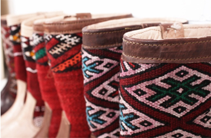 Botas con kilin marroqu katia rocha - Muebles marroquies en madrid ...