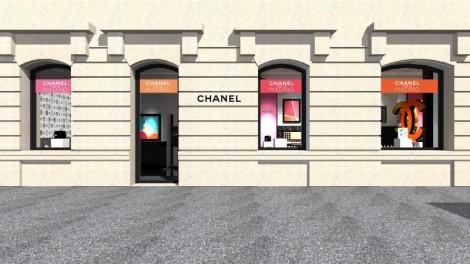 chanel fachada tienda