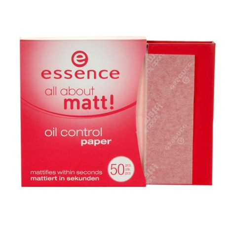 essence papel matificante