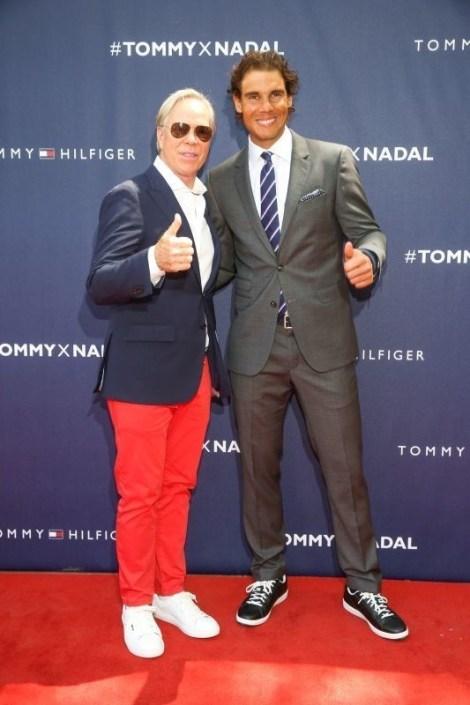 Tommy Hilfiger, Rafael Nadal (PRNewsFoto/Tommy Hilfiger)
