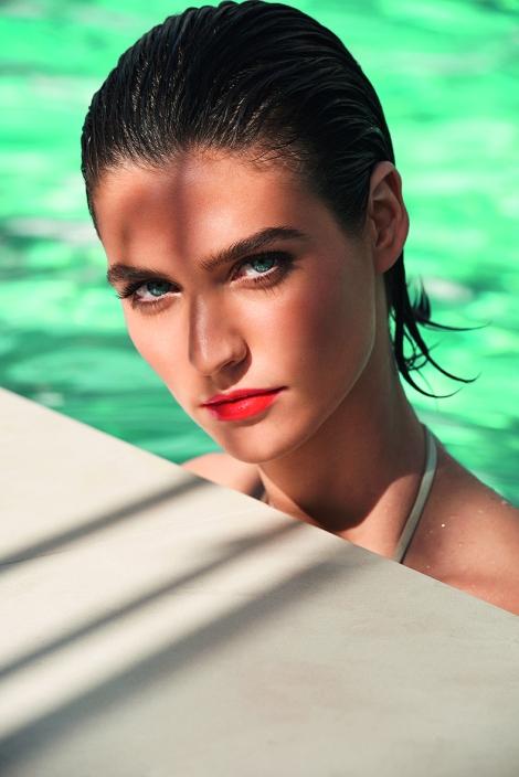 clarins Visual modelo Maquillaje Verano 2016